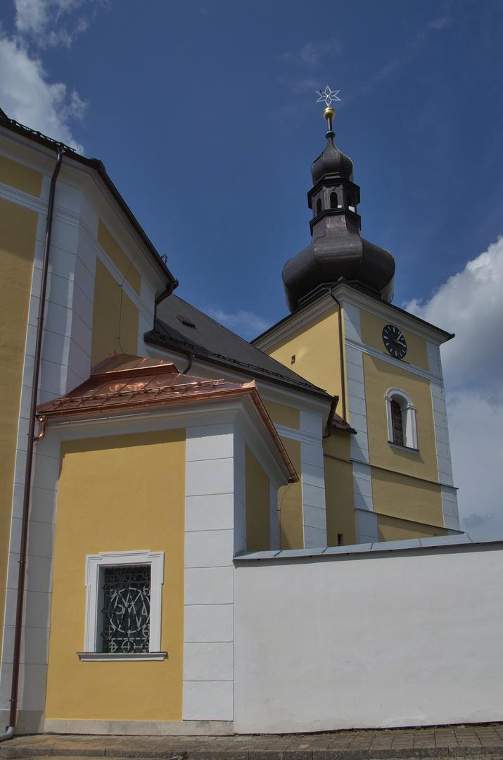 Kostel Navštívení Panny Marie, Obyčtov