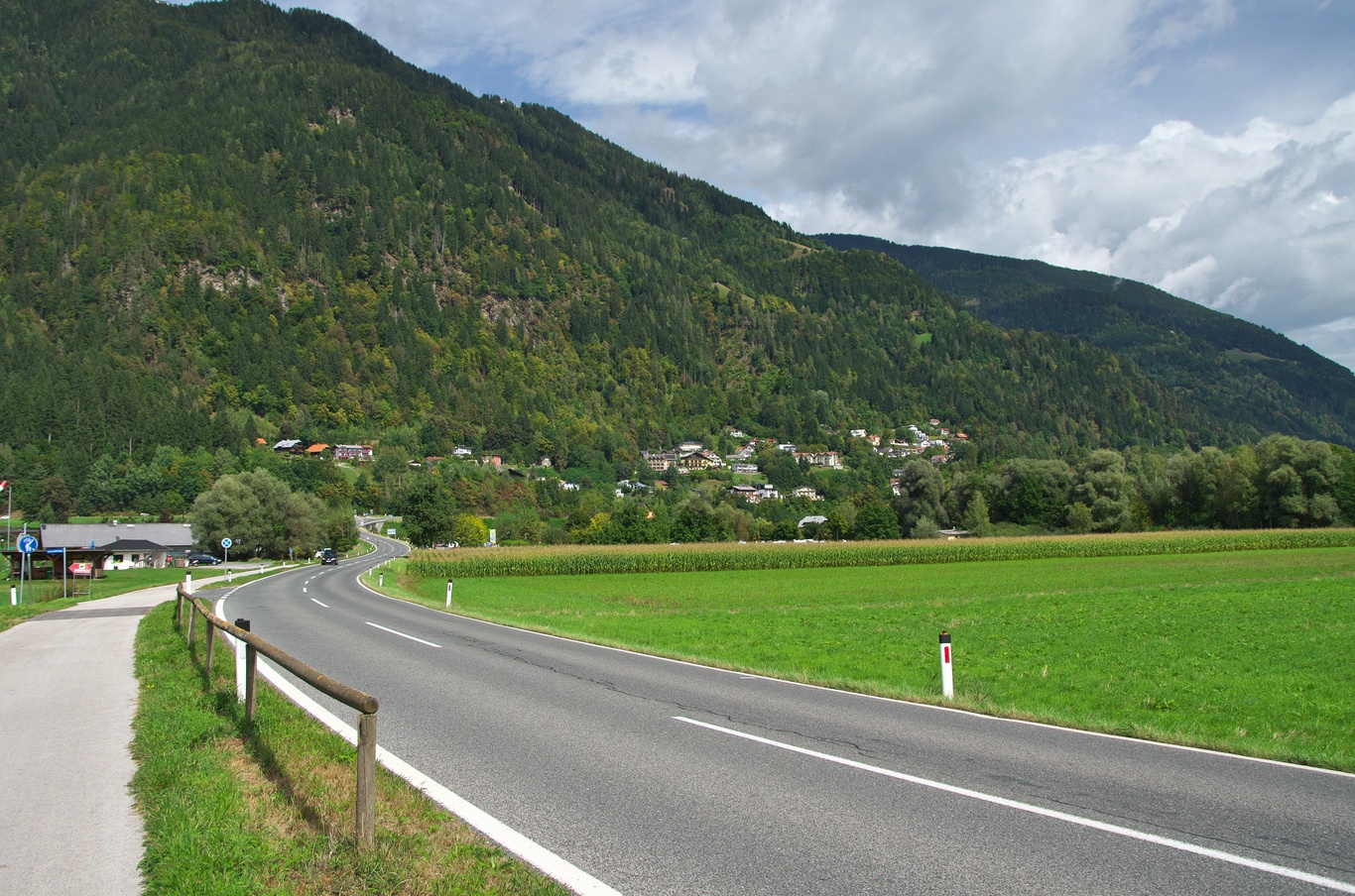 Cyklovýlet okolo Ossiacher See