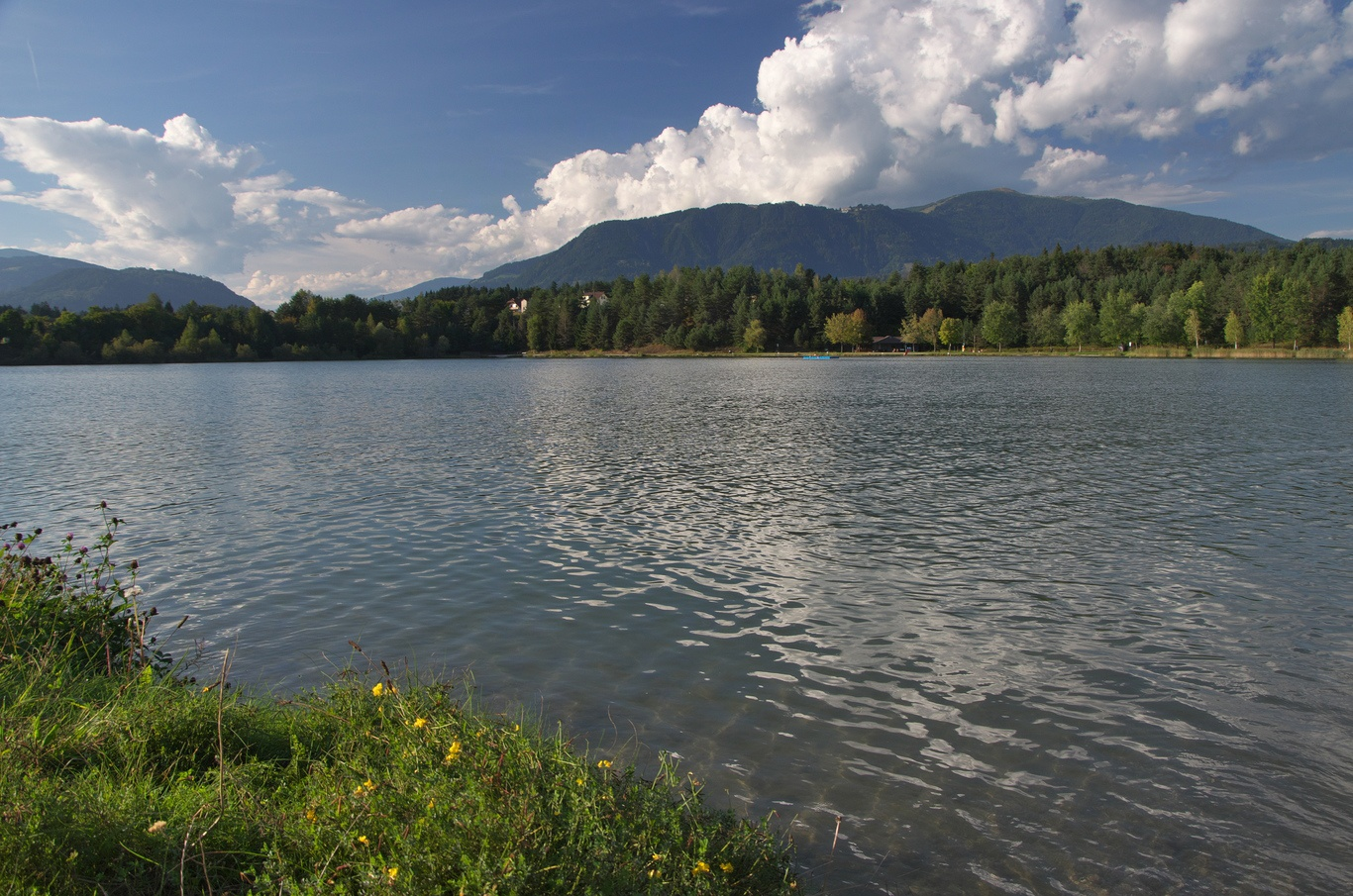 Cyklovýlet Faaker See - Silber See