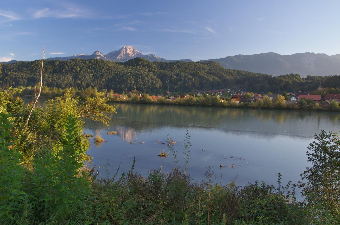 Cyklovýlet Faaker See - Dráva