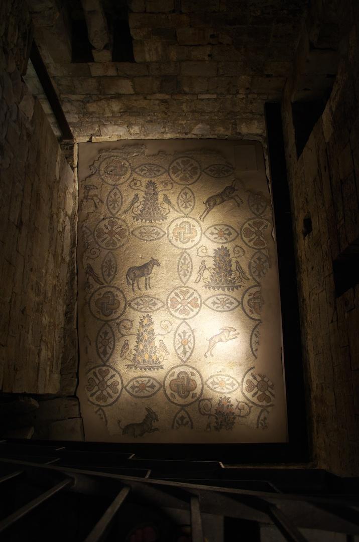 Aquileia, mozaika ve zvonici (Campanile)