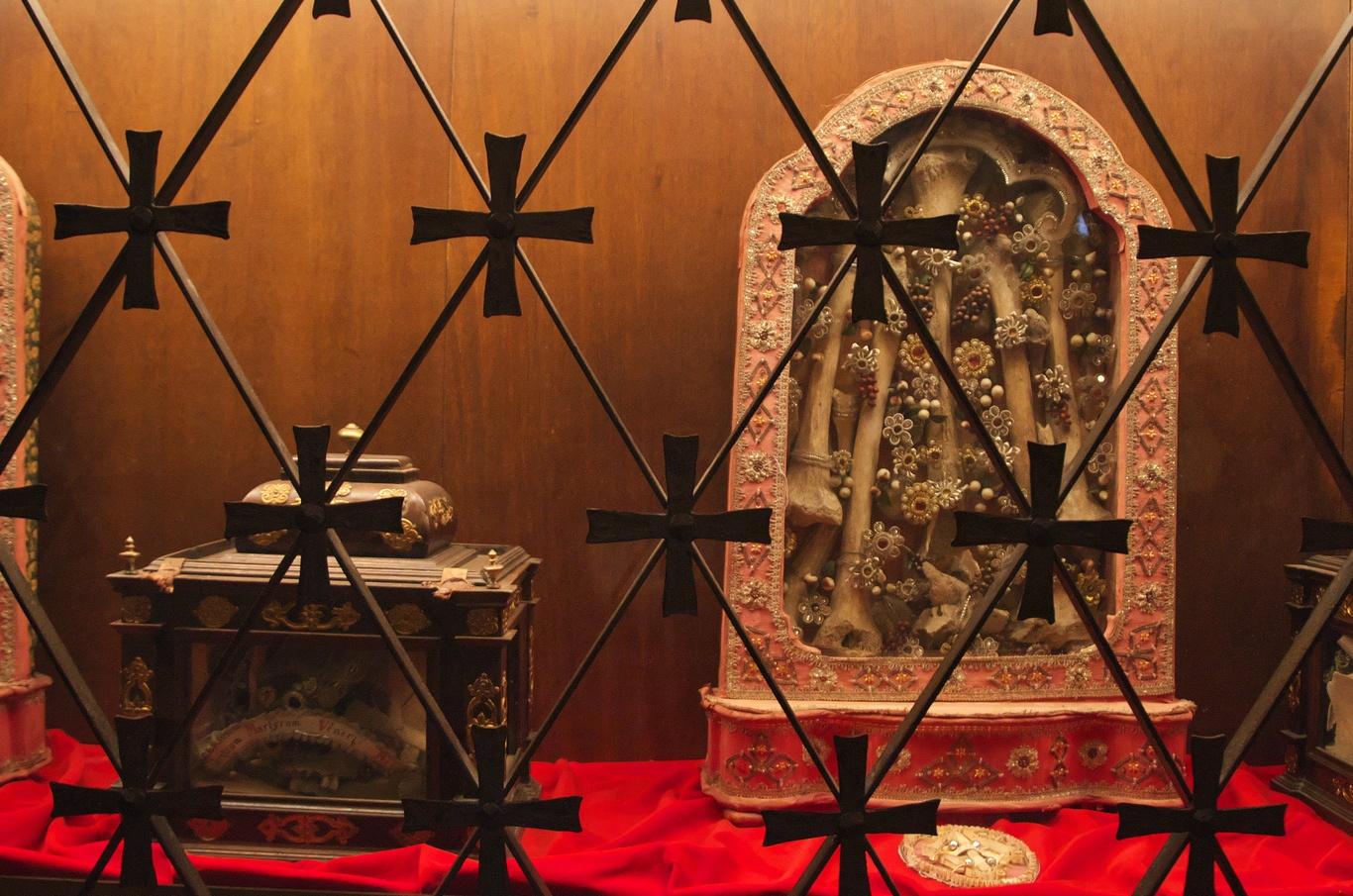 Aquileia, bazilika - La Cripta degli affreschi