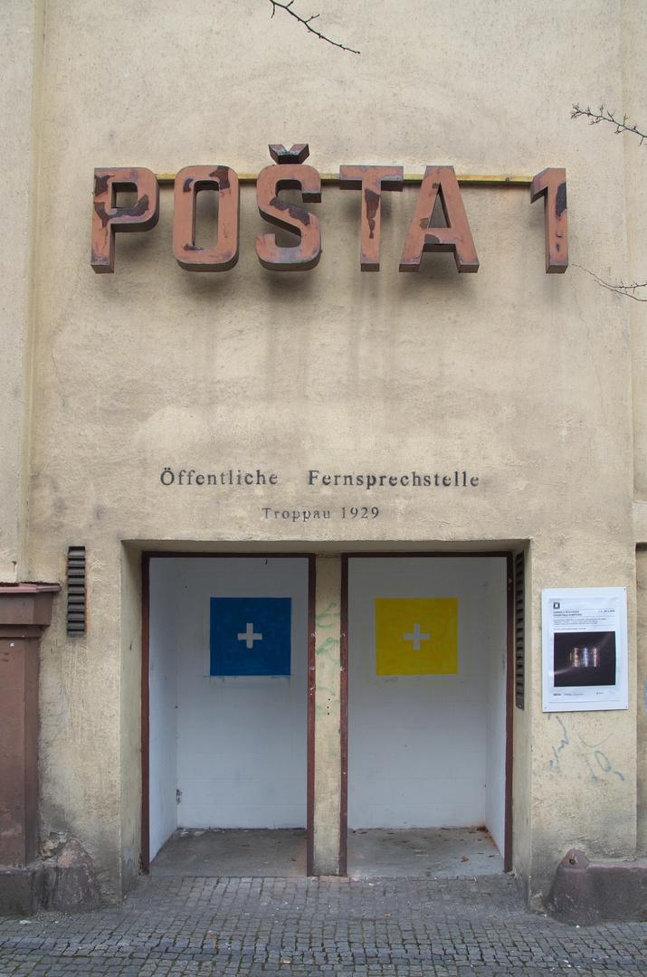 Bývalá budova hlavní pošty na Masarykově třídě