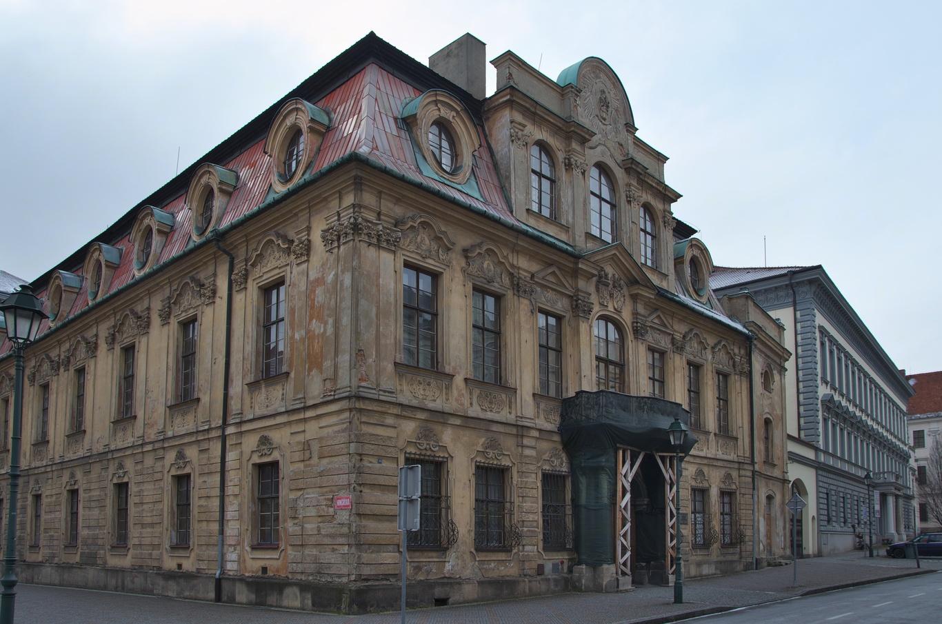 Blücherův palác na Masarykově třídě
