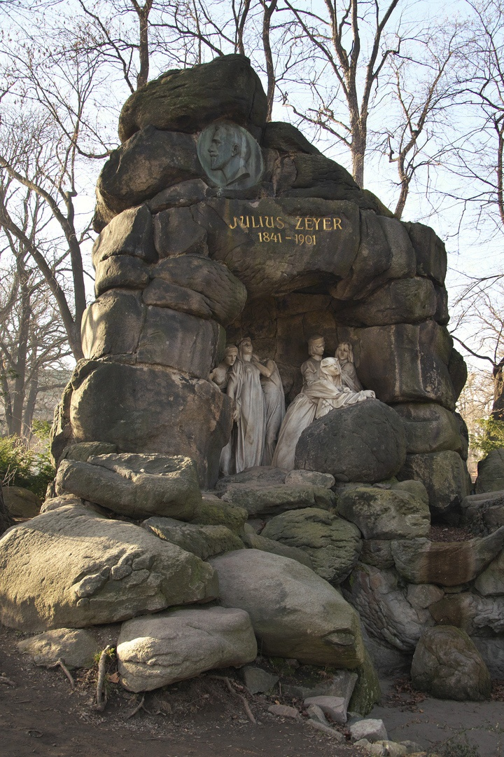 Pomník Julia Zeyera