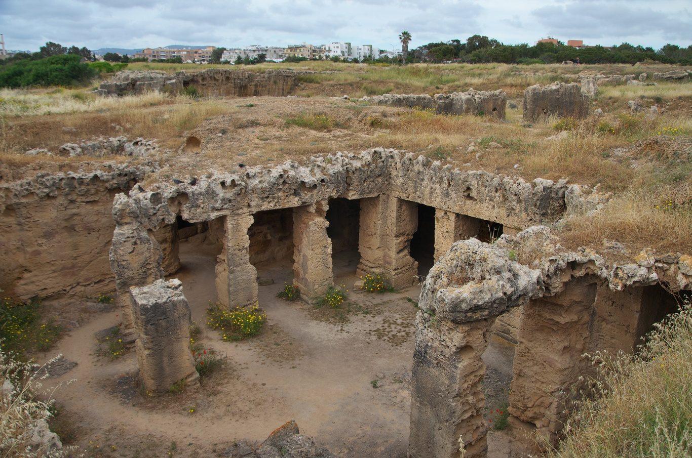 Hrobky králů Pafos