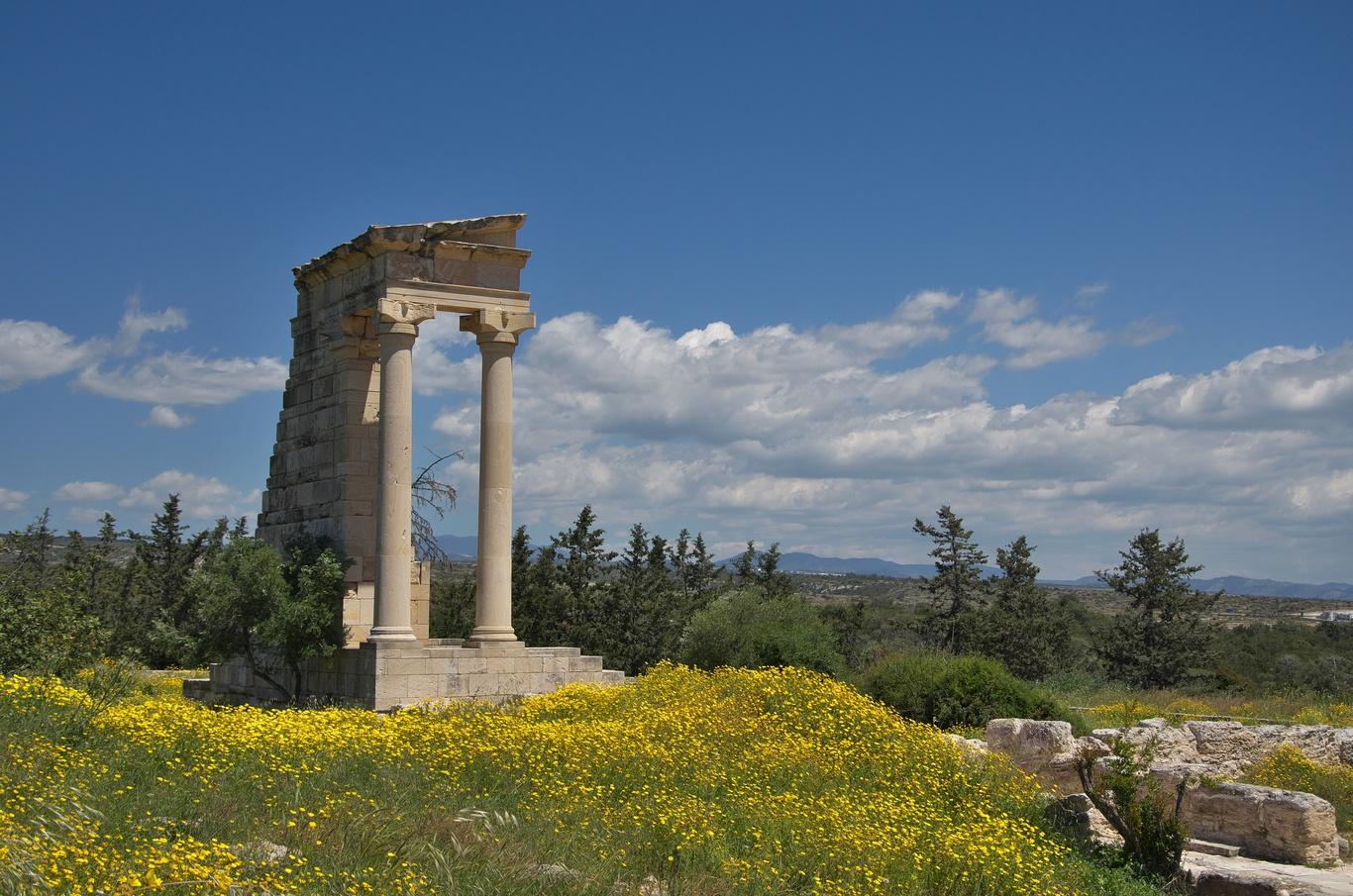 Archeologické naleziště Apollonova svatyně (Sanctuary of Apollo Hylates)
