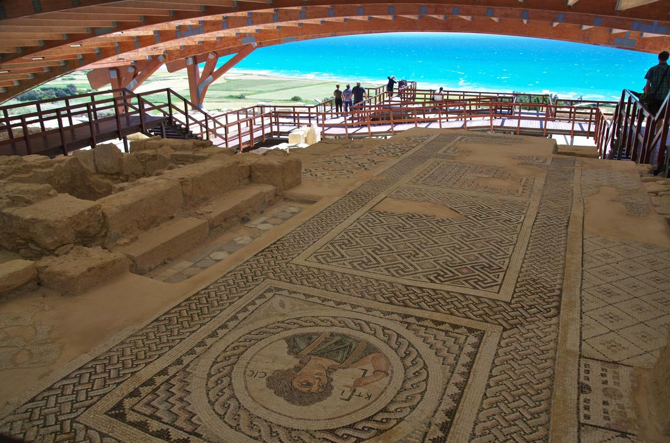 Archeologické naleziště Kourion, Eustoliův dům