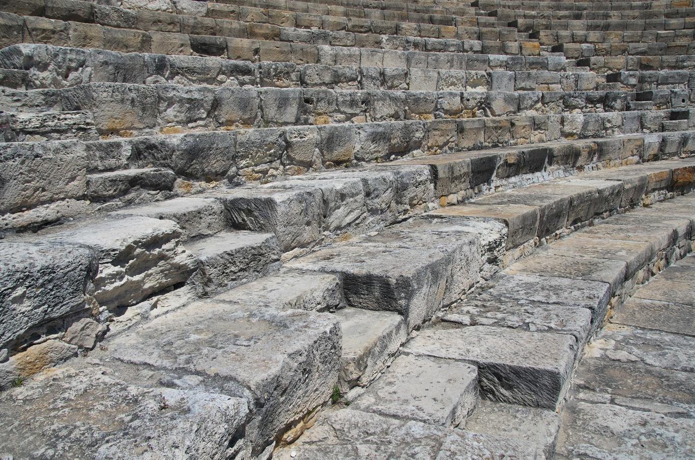 Archeologické naleziště Kourion, antické divadlo