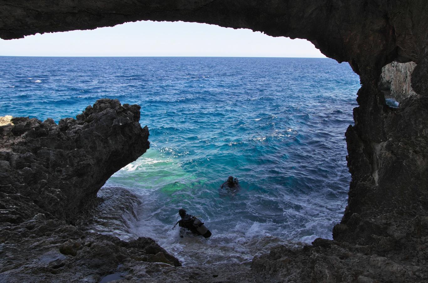 Mys Greco, jeskyně Ayioi Anargyroi