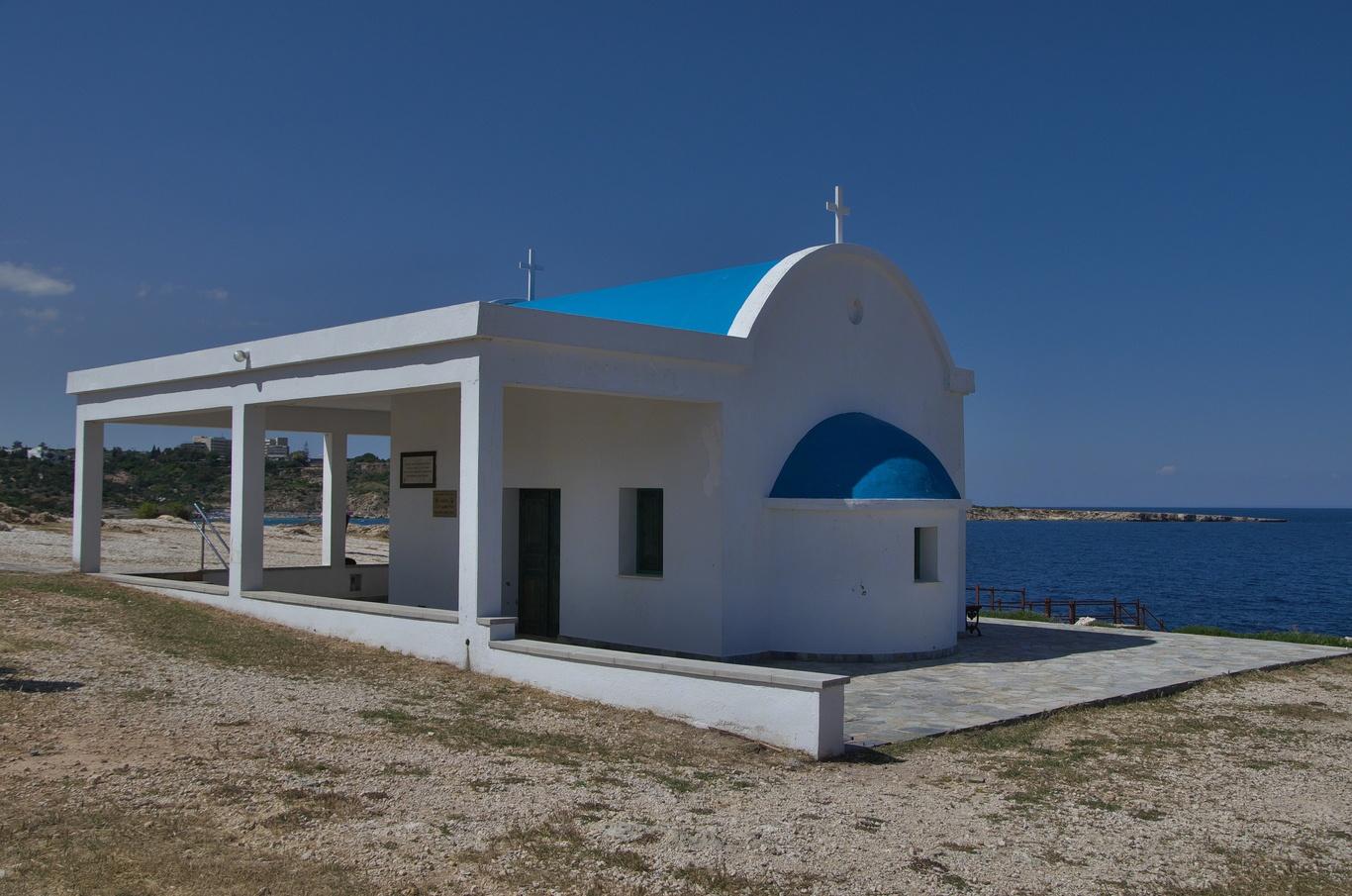 Mys Greco, kostelík Ayioi Anargyroi