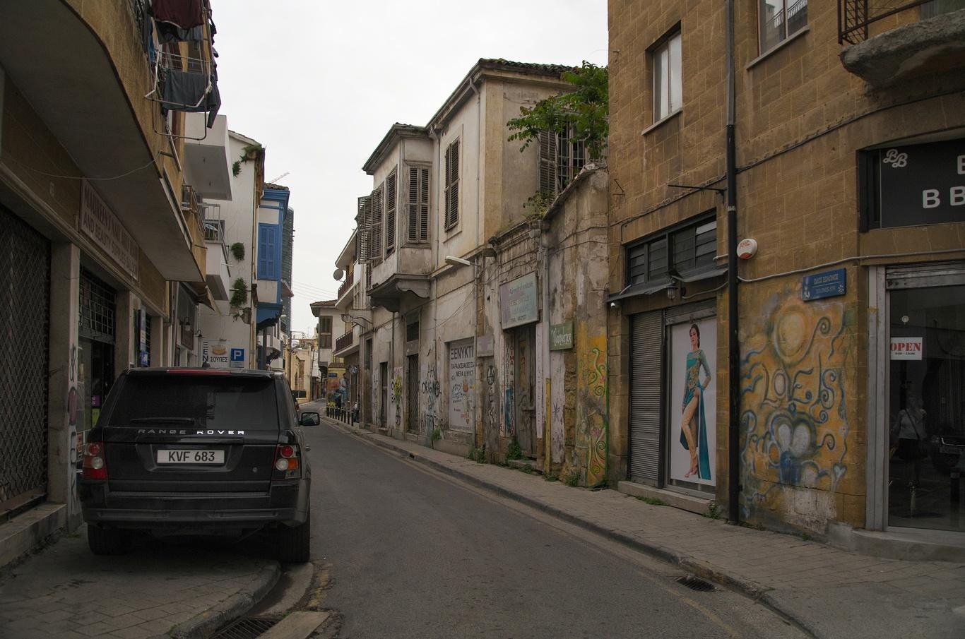 Nikósie - řecká část