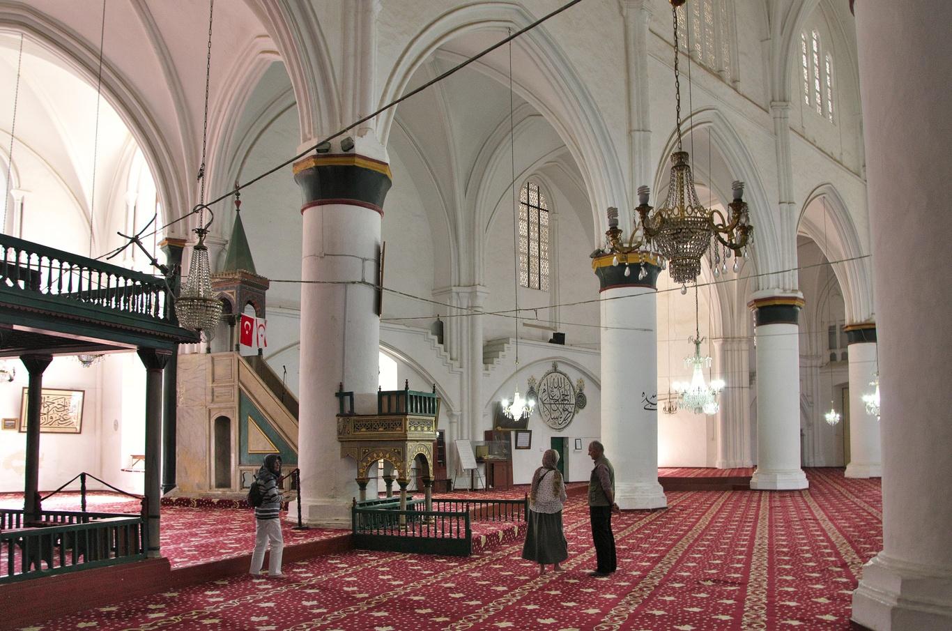 Nikósie - turecká část, mešita Selimiye