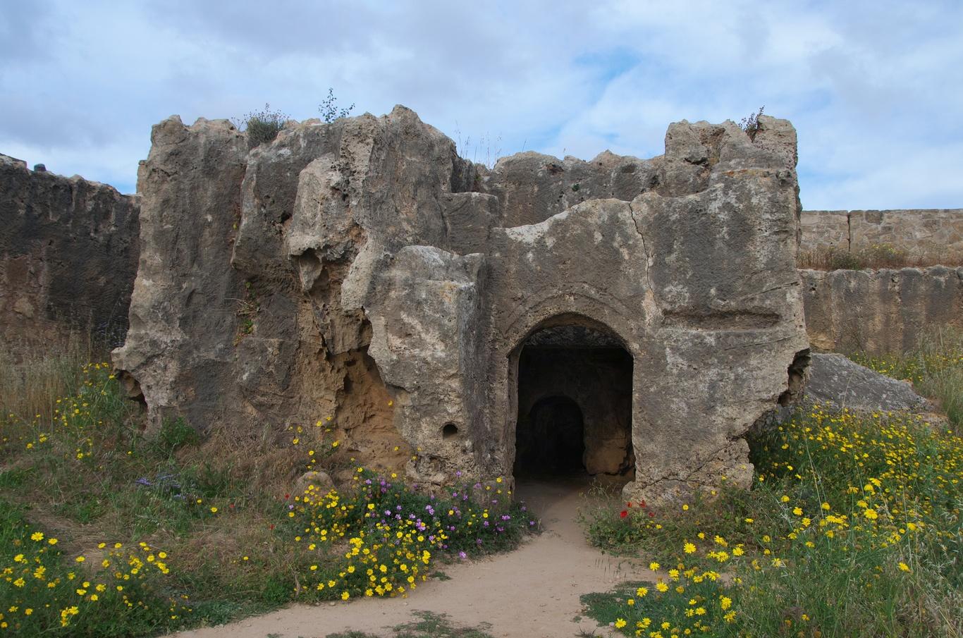 Archeologické naleziště Hrobky králů (Tombs of the Kings)