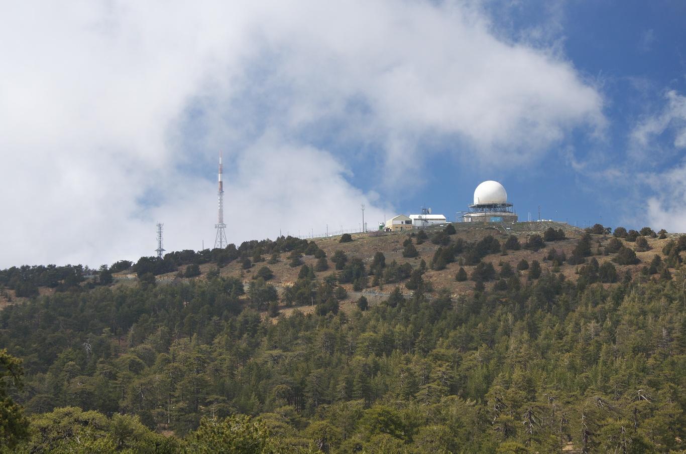 Pohoří Troodos - hora Olympos