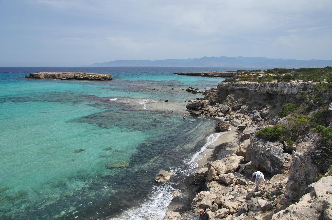 Poloostrov Akamas, Blue Lagoon