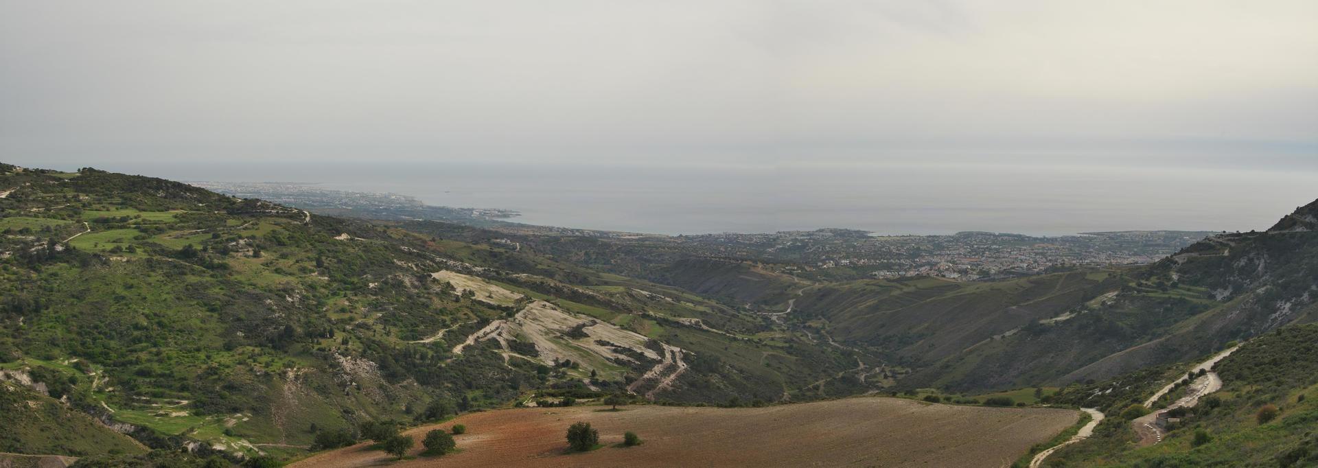 Západní pobřeží Kypru, cestou zpět do Paphosu