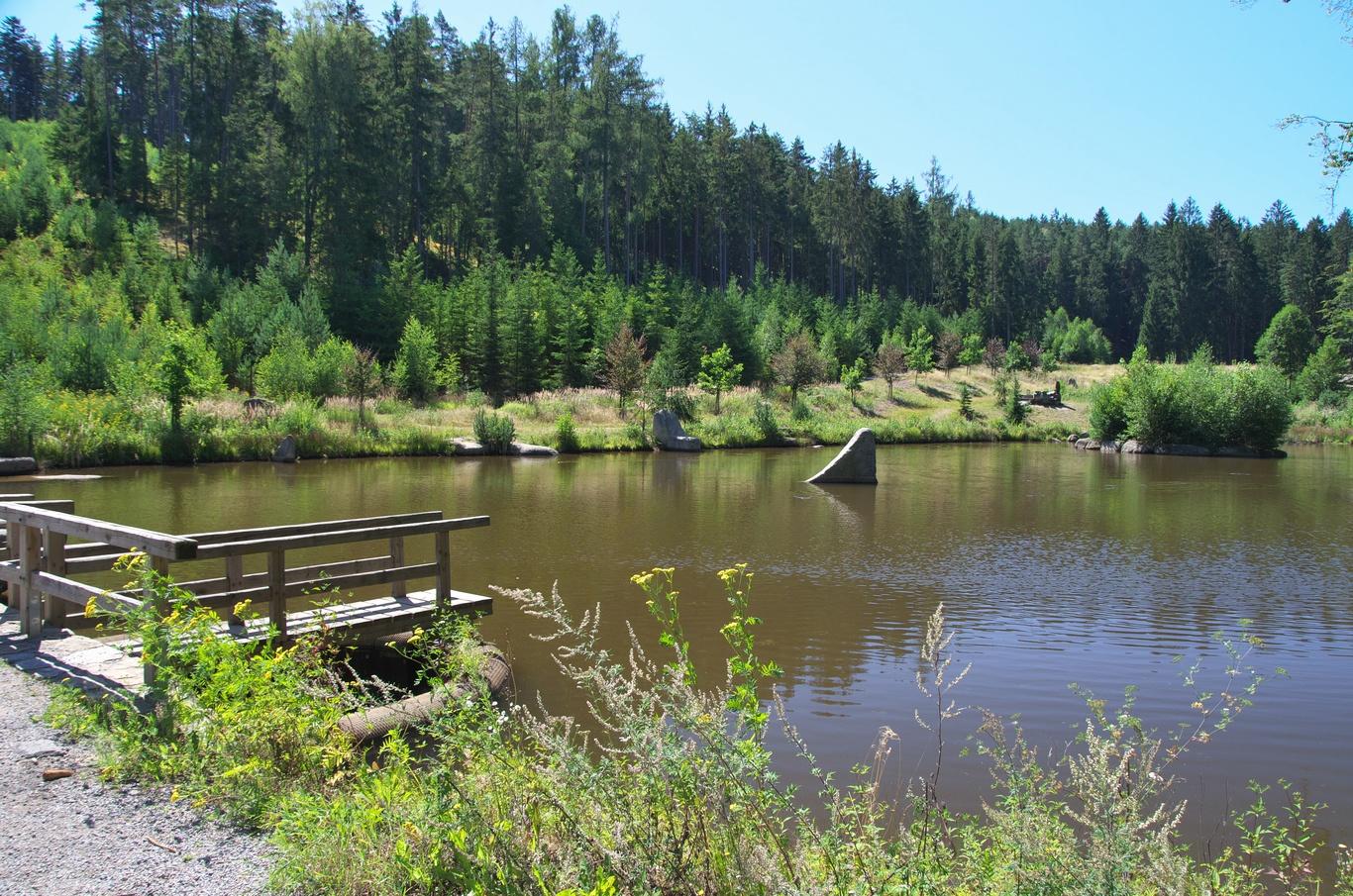 Kaskády rybníků
