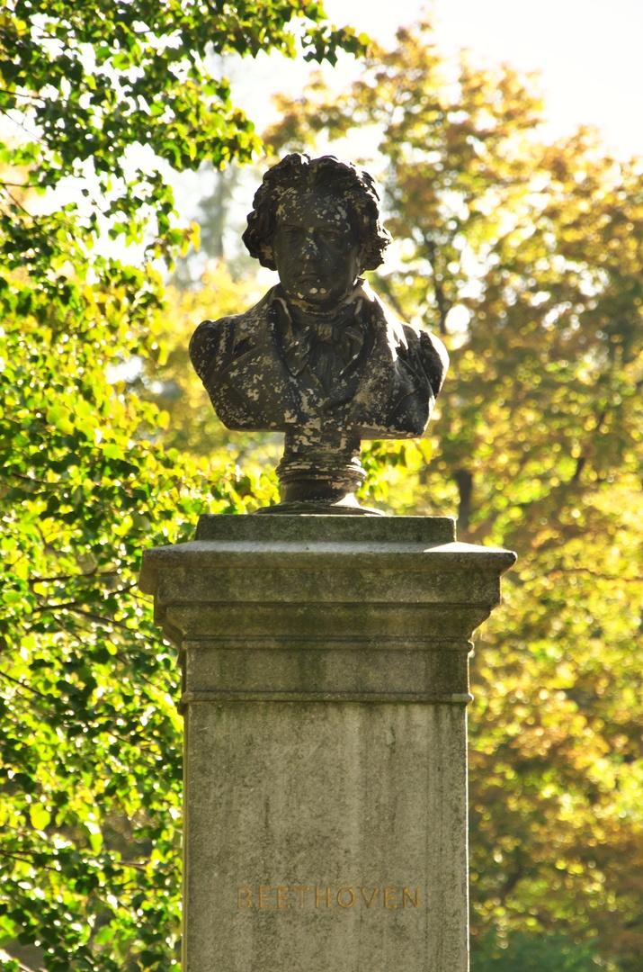 Hradec nad Moravicí, busta Ludwiga van Beethovena