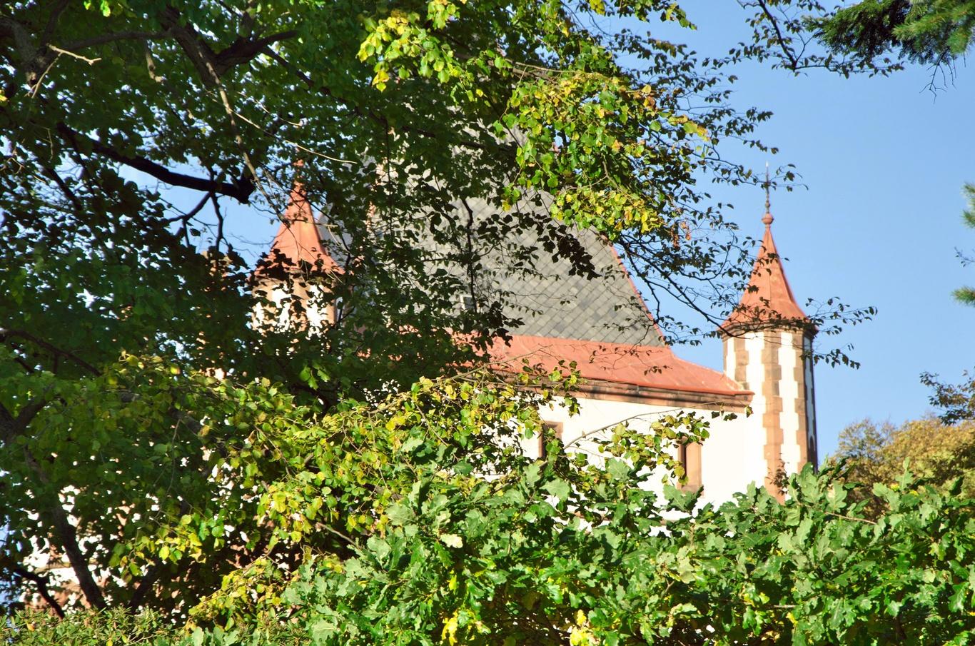 Hradec nad Moravicí, Bílá věž
