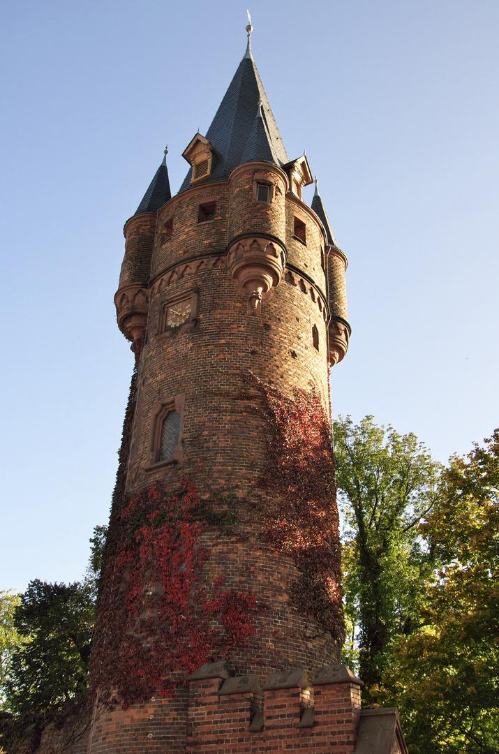 Hradec nad Moravicí, Červený zámek, Hodinová věž