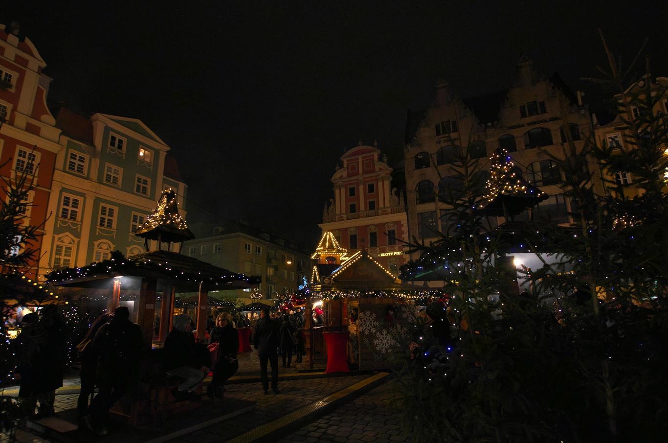 Vánoční trhy na Rynku
