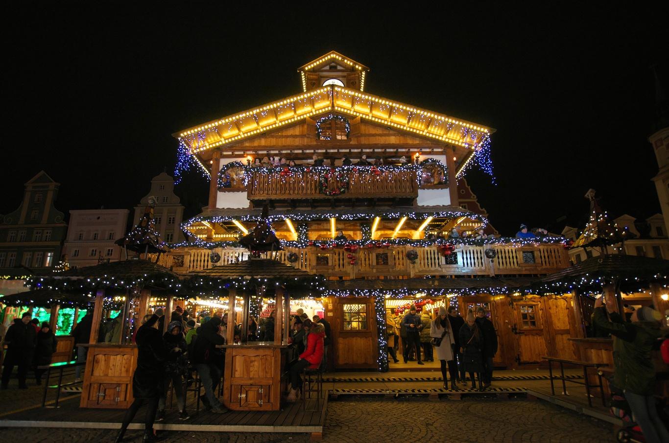 Vánoční trhy na Solném náměstí