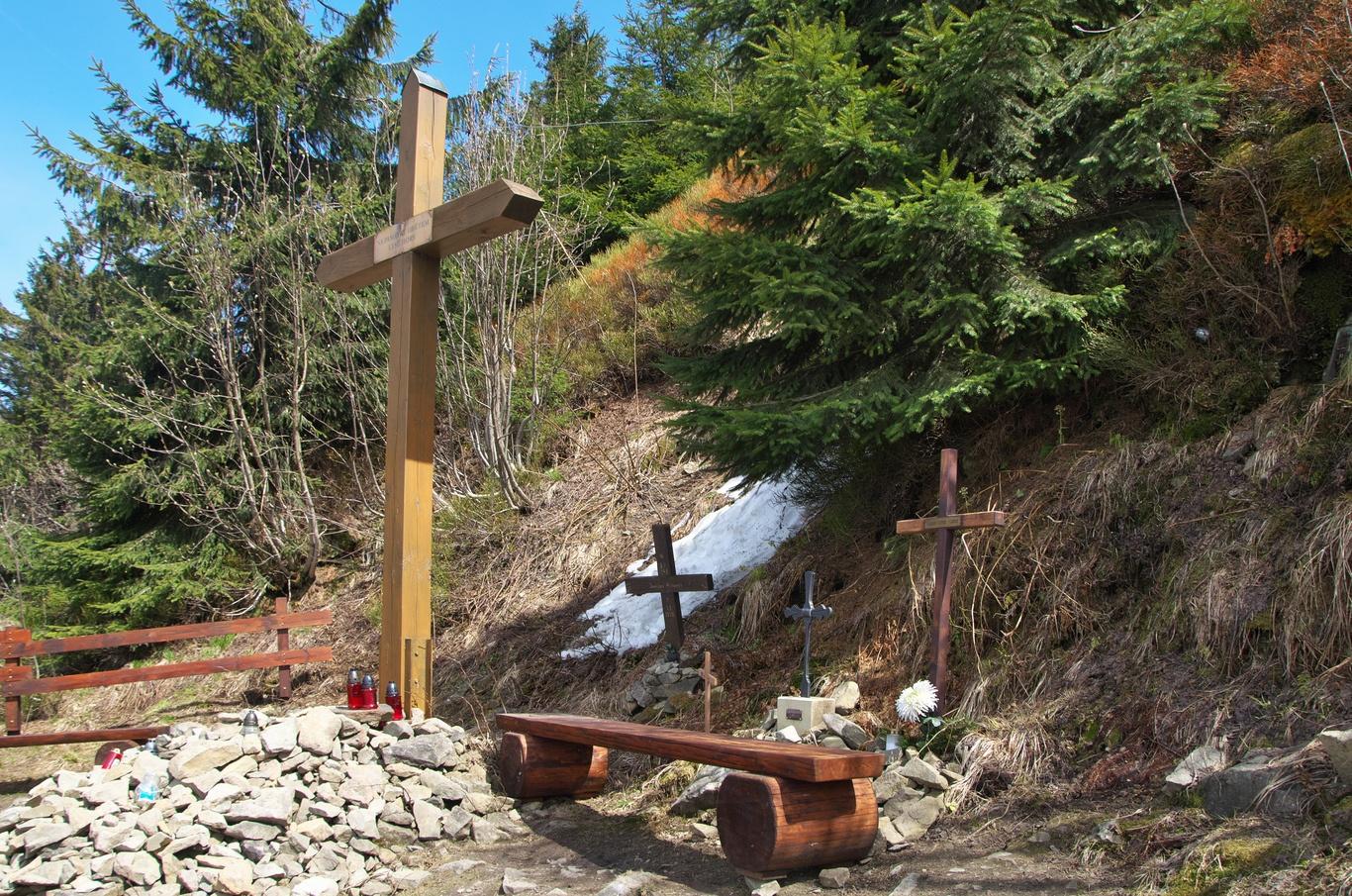 Památník lysohorským obětem