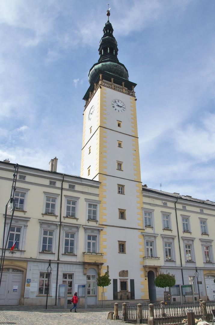 Litovel - radniční věž