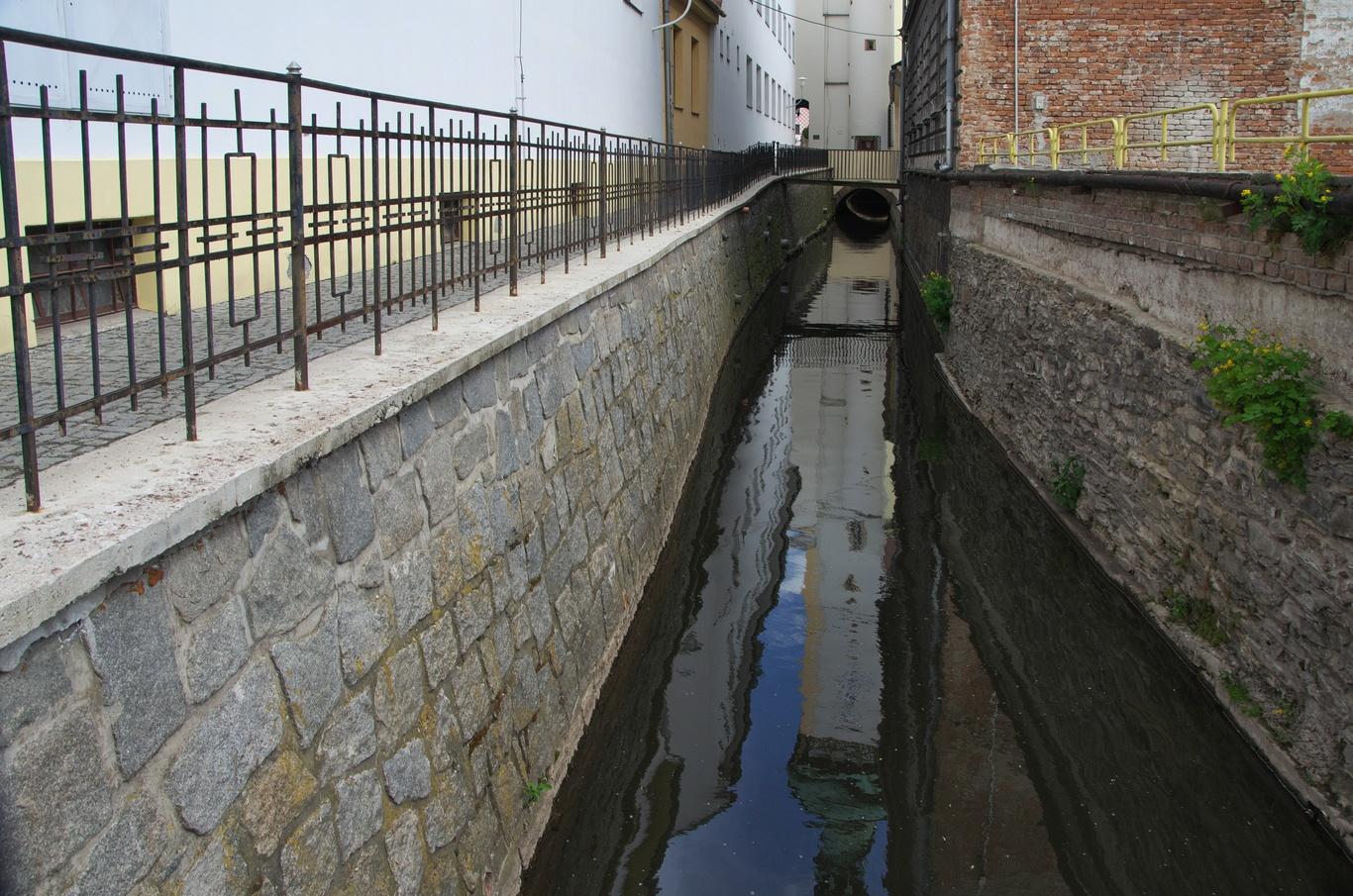 Litovel - Nečíz, jedno z ramen řeky Moravy
